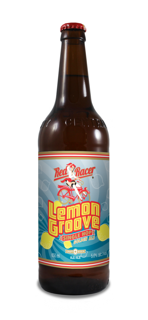 Red Racer Lemon Groove Golden Ale