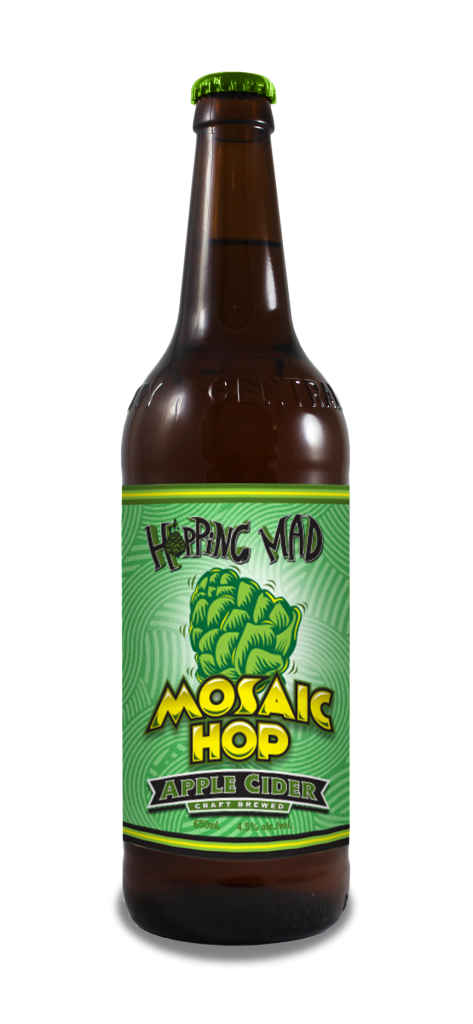 Hopping Mad Mosaic Cider