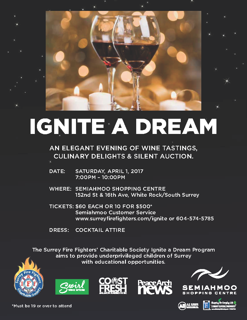 Ignite a Dream Surrey Firefighters