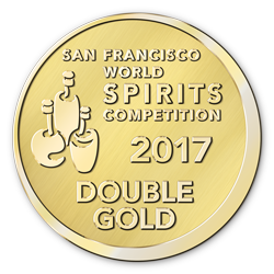 2017 San Francisco World Spirits Competition Double Gold Queensborough Gin