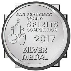 2017 San Francisco World Spirits Competition Silver Medal Award Lohin McKinnon
