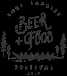 Fort Langley Beer + Food Festival 2017 logo
