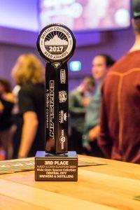 Central City Brewing BC Beer Awards 2017 Bronze Award
