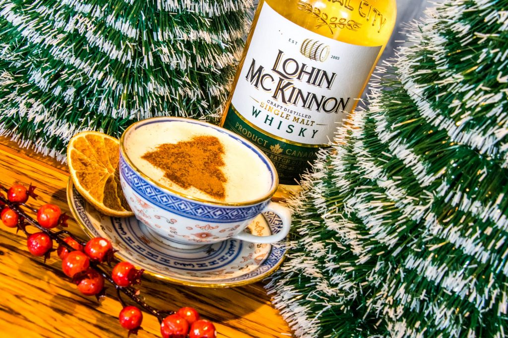 Central City Lohin McKinnon Eggnog Holidays 2018 Winter Cocktail