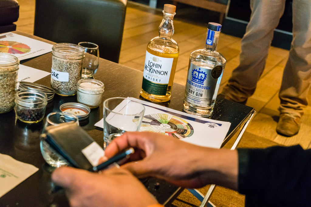 Central City Beer and Spirits Training Hyatt Regency LM Whisky QB Gin