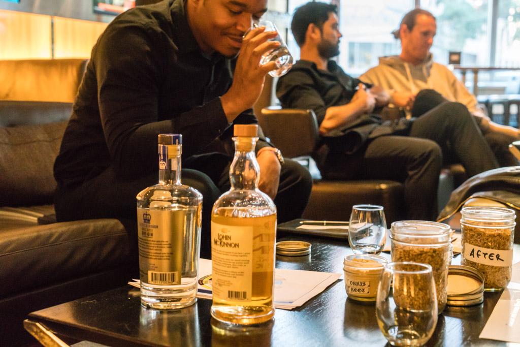 Central City Beer and Spirits Training Hyatt Regency Smelling Whisky