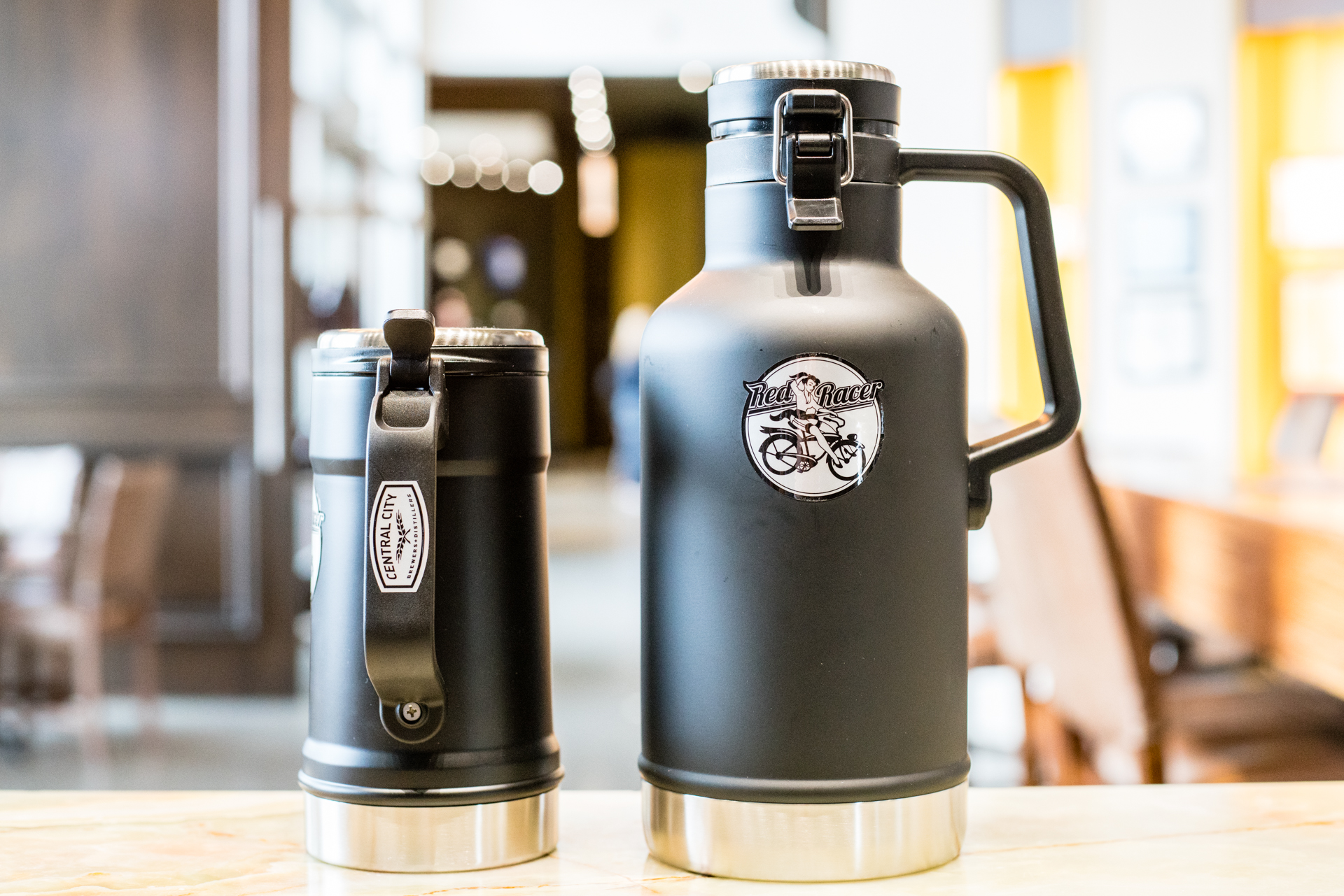 Central City Gift Ideas Insulated GrowlersCentral City Gift Ideas Insulated Growlers