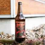 Red Racer Lucky Dog Collaboration Beer Bottle