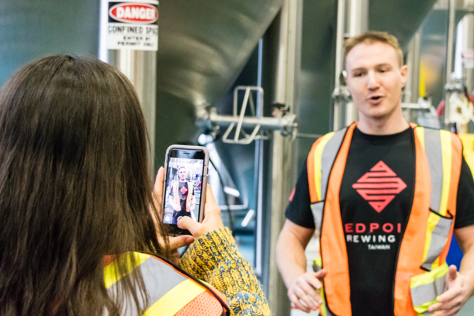 Red Racer Redpoint Brewing Co. Collaboration Brew Day - Spencer Interview