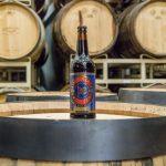 Central City Lohin McKinnon Whisky Aged Imperial Porter Bottle on Barrel 02