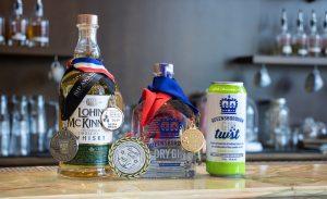 Lohin McKinnon Queensborough Gin & Queensborough Gin TWST Awards