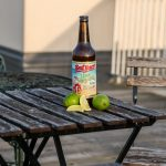 Red Racer Lime Margarita Gose Cut Limes Far