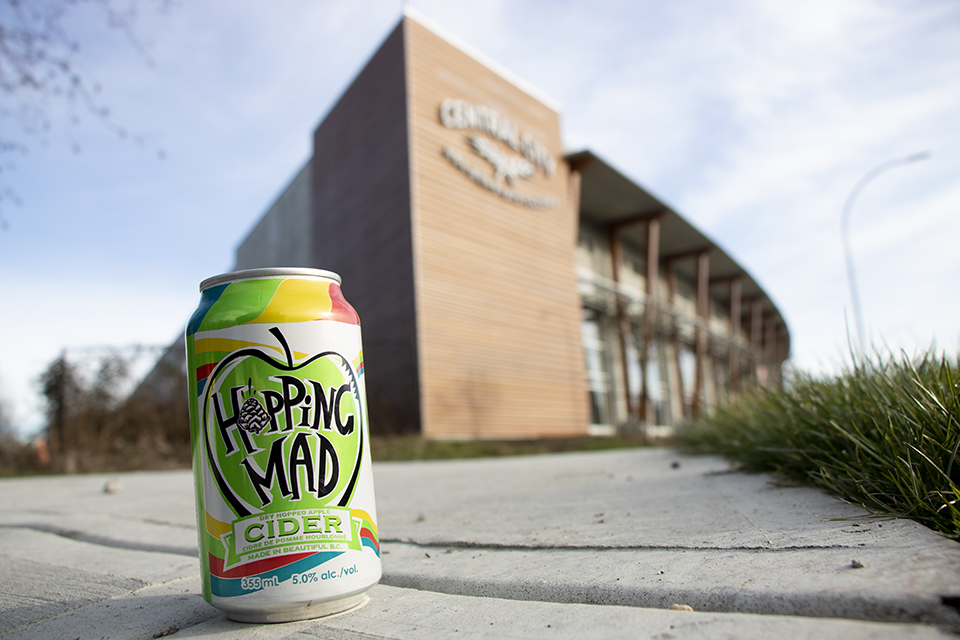 Hopping Mad Cider Can