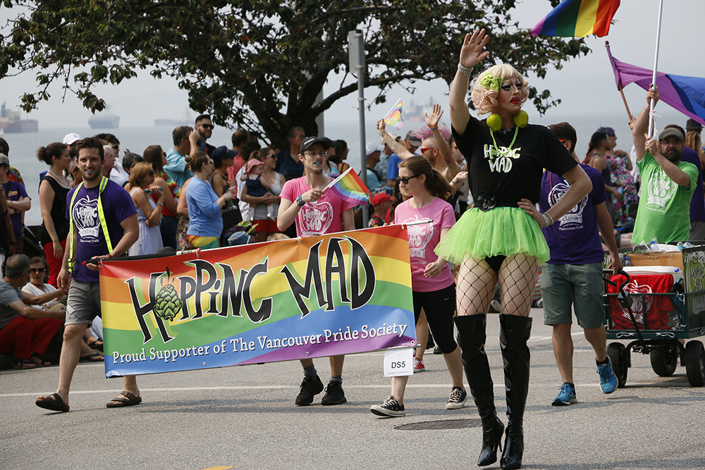 Hopping Mad Pride Parade