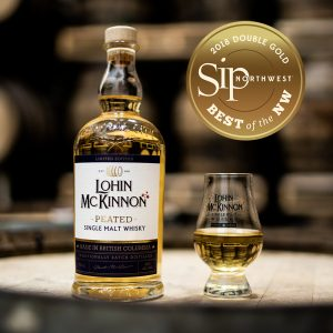 Lohin McKinnon Peated Whisky Double Gold Sip Northwest 2018