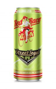 Red Racer Street Legal Dealcoholized IPA Product Image